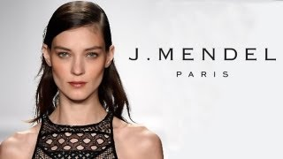 J. Mendel SS14 Fashion Show : New York Fashion Week With Dr. Lisa Airan