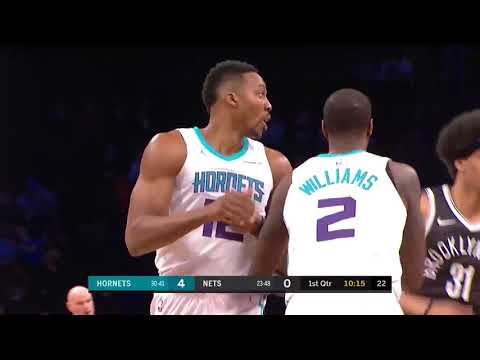 Dwight Howard Finishes with 32 Points and 30 Rebounds in Win Against Nets (видео)
