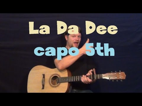 La Da Dee (CODY SIMPSON) Easy Guitar Lesson How to Play Tutorial