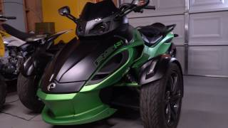 4. 2013 CanAm Spyder RSS Experience | Mods | Specs | Review