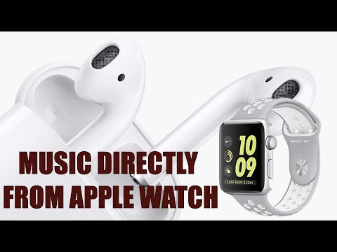 How to Pair AirPods with the Apple Watch!