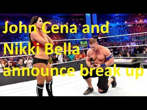 John Cena and Nikki Bella announce break up
