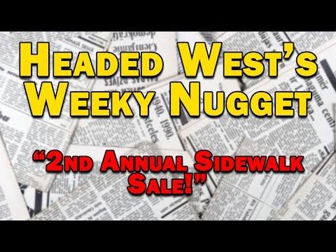 2nd Annual Sidewalk Sale Saturday, September 7th 11am – 4pm