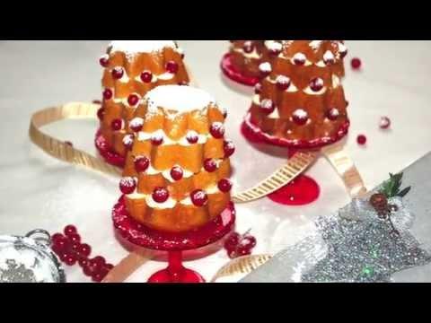 video ricetta: pandorini con crema al mascarpone.