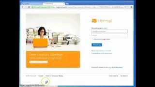 Msn Hotmail kaydı videolu anlatım.