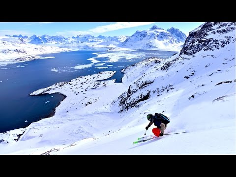 Maewan - Extreme skiing and mountaineering in Greenland