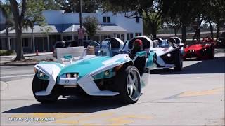 10. WhipAddict: 5 Custom Polaris Slingshot's by Underground Auto, Orlando Classic Weekend