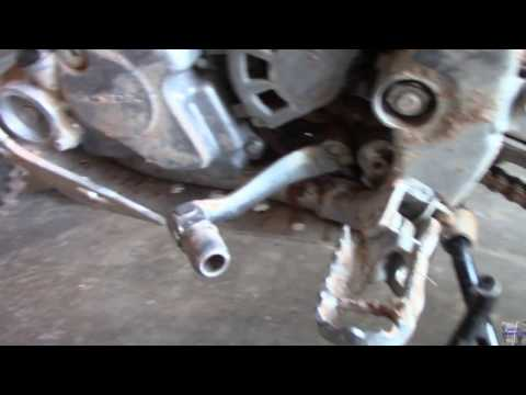 CRF150R (My Shifter Bent!!) Ep#4