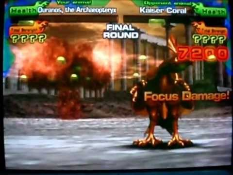 Animal Kaiser Evolution - Ouranos vs & defeat Kaiser Coral