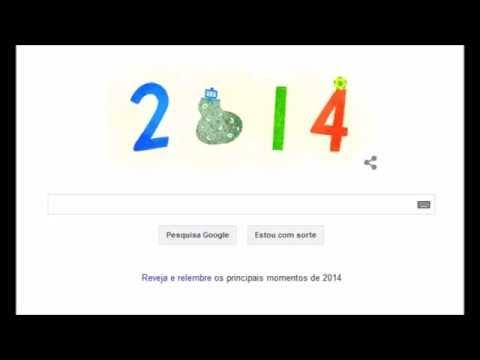 Imagens de feliz ano novo - doodle animado do google:  Feliz Ano Novo!