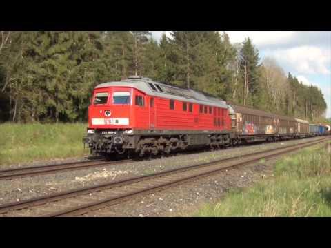 DB Trains around Marktredwitz   May 2016