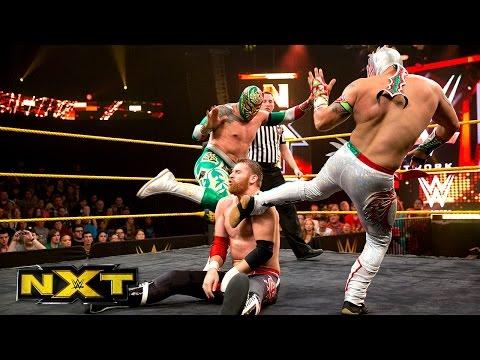 Kalisto & Sin Cara vs. Adam Rose & Sami Zayn: WWE NXT, Aug. 21, 2014