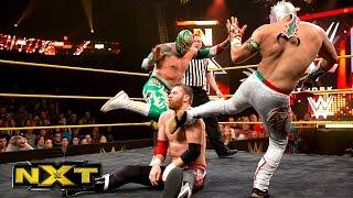 Kalisto & Sin Cara vs. Adam Rose & Sami Zayn: WWE NXT