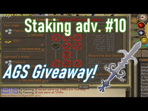 [OSRS] staking adv. #10 | Risking it all!!