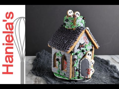 AWESOME HAUNTED GINGERBREAD HOUSE by HANIELA'S