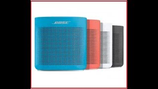 Bose SoundLink Color Bluetooth speaker II Official review