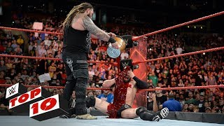 Download Lagu Top 10 Raw moments: WWE Top 10, August 14, 2017 Mp3