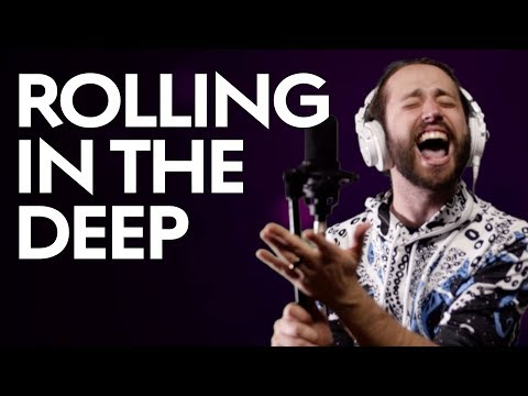 "Adele  ""Rolling in the Deep"" Cover by Jonathan Young"