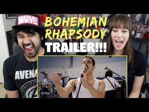 BOHEMIAN RHAPSODY   Teaser TRAILER - REACTION!!!