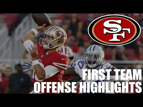 San Francisco 49ers First Team Offense Highlights vs. Dallas Cowboys | NFL Preseason