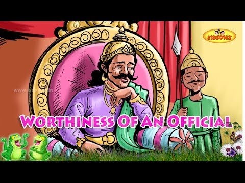 Worthiness of an Official || Moral stories || Animated stories in English