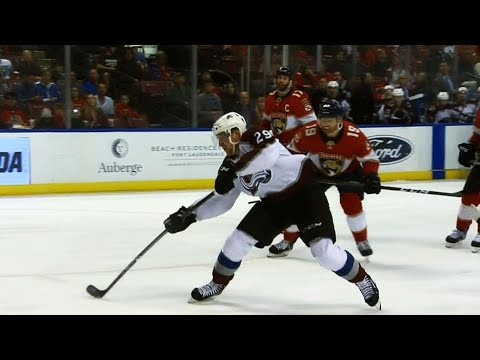 Video: Nathan MacKinnon scores electrifying goal against Panthers