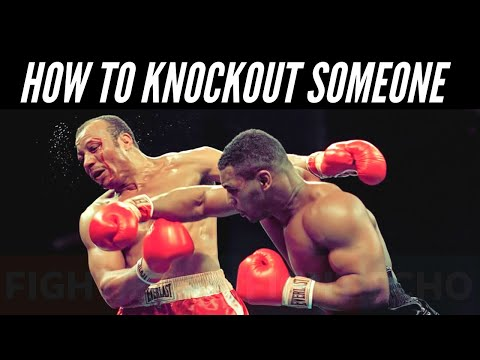 How To Knockout Someone In Boxing