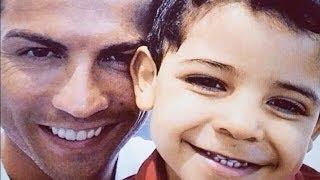 Cristiano Ronaldo with son Cristiano Jr  2013 part 2