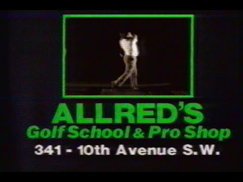 Allred's Golf School & Pro Shop Commercial, Jan 16 1987