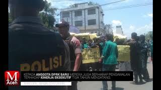 Demo Mahasiswa Bireuen, Anggap Kepemimpinan Saifannur Belum Berbuat Apa-apa