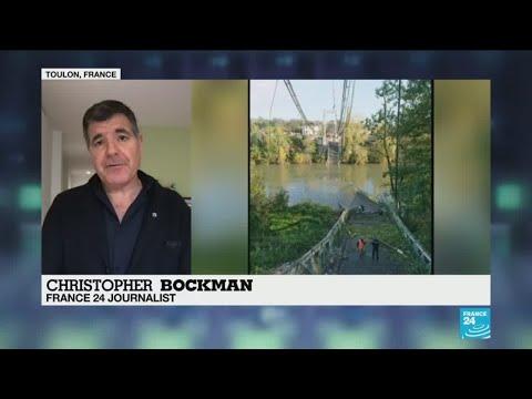 Video - Κατέρρευσε γέφυρα στη Γαλλία και σκότωσε 15χρονη- ΒΙΝΤΕΟ