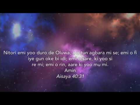 Ojo Eri (Showers of Testimonies) Oru Atunse September 2020