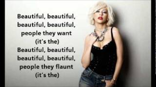 Christina Aguilera The Beautiful People Lyrics On