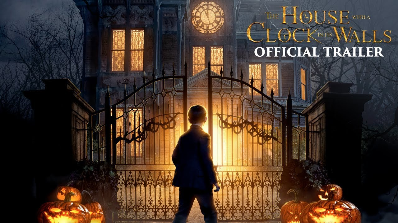 (Trailer) This House Knows what makes you Tick in 'The House with a Clock in its Walls' starring Jack Black & Cate Blanchett