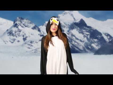 Déguisement Pingouin Long pour adultes