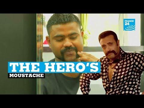 The hero's moustache: Indian pilot's moustache sparks fashion trend
