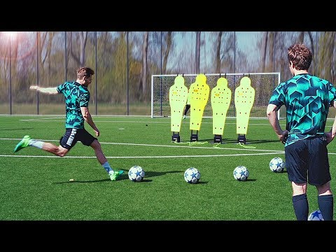 freekickerz vs Guerreiro (BVB) - Free Kick Challenge_Sport videók