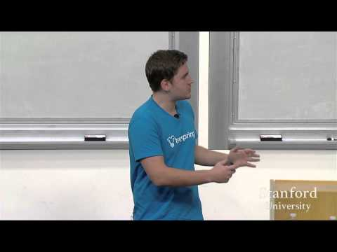 lecture - Lecture 8 features 3 speakers: Stanley Tang, Founder of Doordash, covers How to Get Started. Walker Williams, Founder of Teespring, covers Doing things that Don't Scale. Justin Kan, Founder...