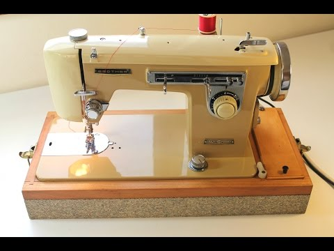How to use a vintage sewing machine brother 345