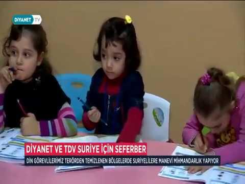 Diyanet ve TDV Suriye için seferber