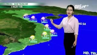 (VTC14)_Thời tiết cuối ngày 05.03.2017, Dự Báo Thời Tiết, Dự Báo Thời Tiết ngày mai, Dự Báo Thời Tiết hôm nay