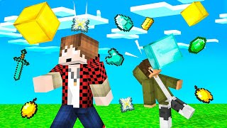 ITEMS RAIN From The SKY In MINECRAFT! (Drop Party)