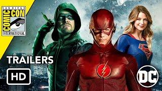 Video All DCTV Comic-Con 2019 Trailers (HD) Flash, Arrow, Supergirl, Harley Quinn, Batwoman MP3, 3GP, MP4, WEBM, AVI, FLV September 2019