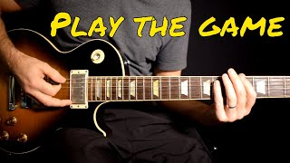 Queen - Play The Game solo cover