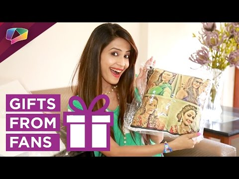 Dimple Jhangiani receives gifts from her fans