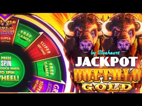 ★BIG BETS BIG WINS?★ BUFFALO GOLD slot JACKPOT on WONDER 4 and BONUS WINS!