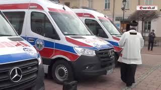 Do Bieszczadzkiego Pogotowia Ratunkowego trafiły nowe ambulanse. W związku z tym w Sanoku odbyła się ceremonia.