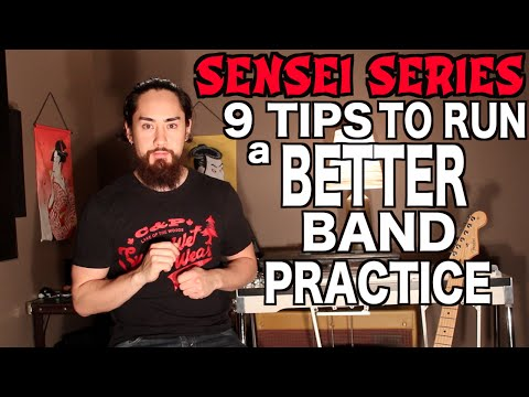 How to Run a Better Band Practice