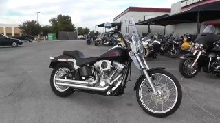 2. 102053 - 2005 Harley Davidson Softail Standard FXSTI - Used Motorcycle For Sale