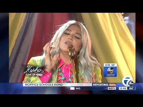 Kesha - Performs 'Praying'  Live (GMA)